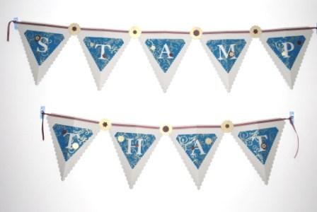 Stampin' Up! Pennant die