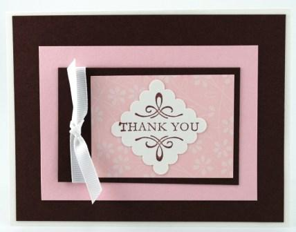 $6.95 Stampin' Up! Thank you stamp