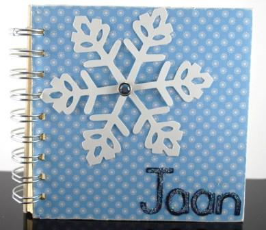 Stampin' Up! chipboard journal