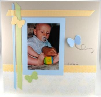 Sale-A-Bration scrapbook page