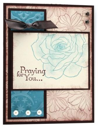 Praying for you . . .