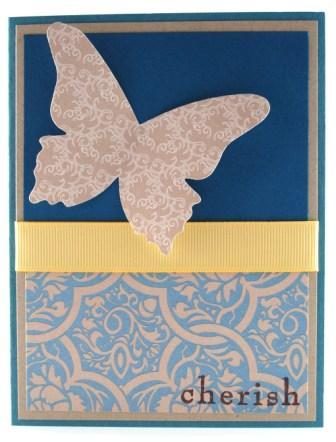 Stampin' Up! Beautiful Butterflies card idea