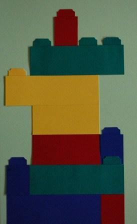 Scrapbooking legos