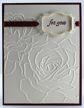 Manhattan flower card