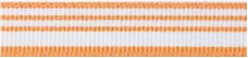 "1/2"" striped gorsgrain ribbon"