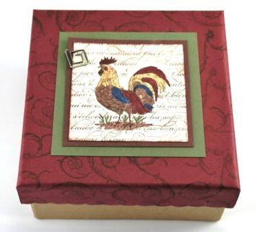 Rooster Coaster Box