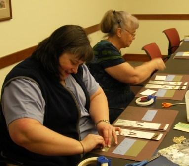 Scrapbooking Club attendees
