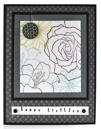 Fifth Avenue Floral Card Idea
