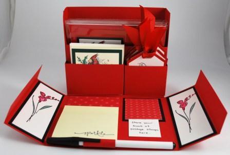 Christmas Cardinal Stamp Set