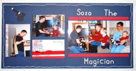 2-page 12x12 Scrapbook Layout