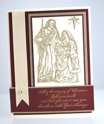 Holy Family Stamp Set