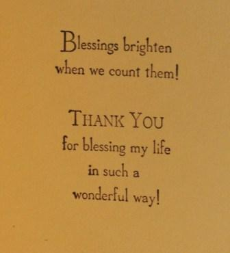 God's Blessings stamp set