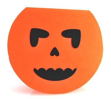Pumpkin with Stampin' Up! Punches