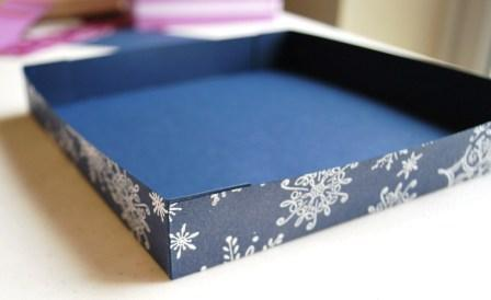 tutorial 4 Gift Tag Box Tutorial For Christmas