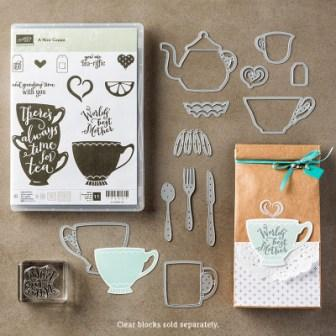 A Nice Cuppa Stamp of the Month class
