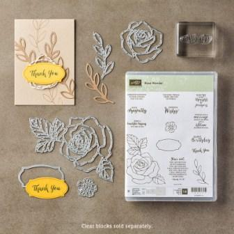 Rose Wonder Stamp of the Month Class