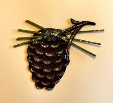 circle scallop pinecone