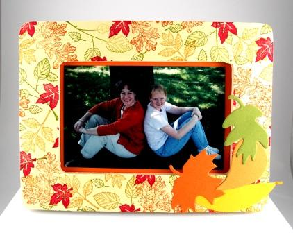 leaf picture frame