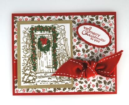 Home for Christmas stamp set