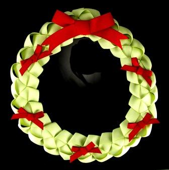 Stampin' Up! Ribbon Wreath