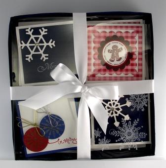 3x3 Christmas Card Display Box
