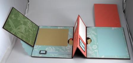 Mini handmade scrapbook