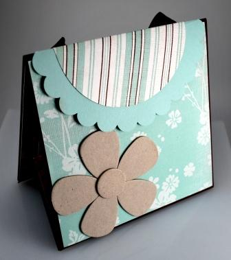 Handmade Scrapbook in a Purse