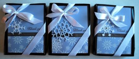 Snow Swirled Teacher Gift