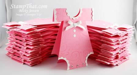 Handmade Baby Shower Invitations for Sale or Use Tutorial to Make