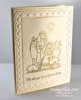 Tidings of Joy Christmas Card