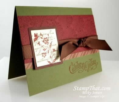Stampin' Up! Charming stamp set