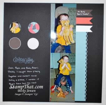 2- Page Scrapbook Layout