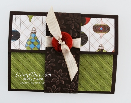 Gift Card Giving Wallet
