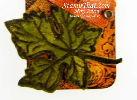 Stampin' up! Gently Falling