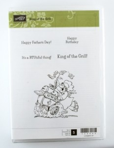 King of the Grill - Clear Mount - $10.00