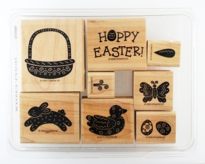 Hoppy Easter stamp set for sale