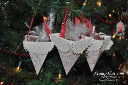 Petal Cone Christmas Gifts