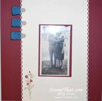 Scrapbook Pages for Vintage Pictures