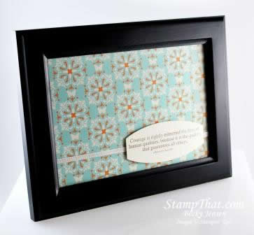 Stampin' Up! Library Display – Desk Stationary