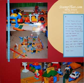 Scrapbooking My Children's Toys