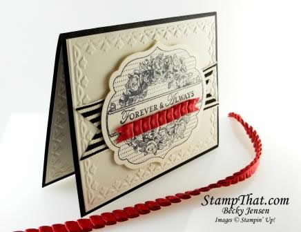 Stampin' Up! Apothecary Art Card