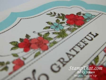 Stampin' Up! Apothecary Art – So Grateful