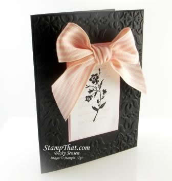 Stampin' Up! Charming Handmade Card