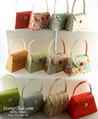 Handmade Party Favors – Petite Purse