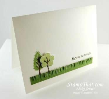 Retiring Stamp Set Trendy Trees