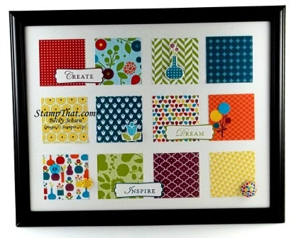 Summer Smooches Sampler Art