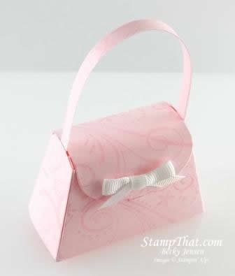 Pink Pirouette Petite Purse