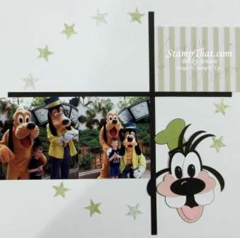 Disney Trip Scrapbook Pages