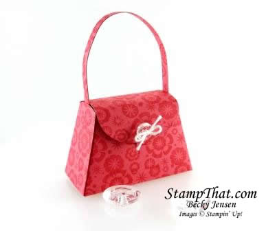 Stampin' Up! Primrose Petals Petite purse
