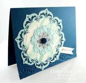 Floral Frames Framelit Card